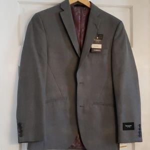 Gray dressy suit jacket